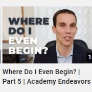Where do i even Begin